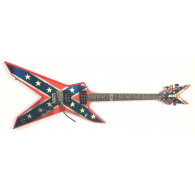 Dean Dimebag Darrell Dixie Rebel con custodia