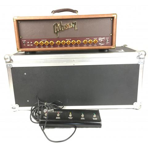 Gibson GA30-RVH Super Goldtone con flightcase e footswitch