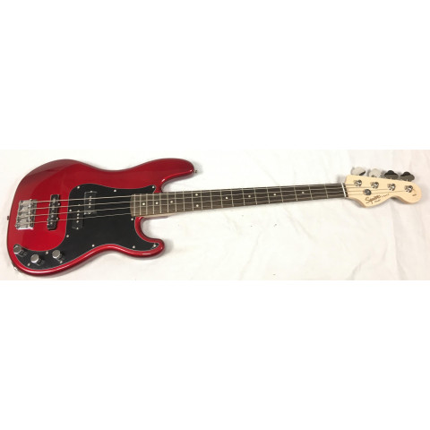 Fender Squier Affinity Precision PJ Bass Candy Apple Red