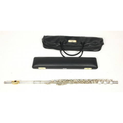 Yamaha Allegro YFL 741 Flauto in argento 925 con Golden Lips