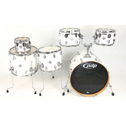 PDP Cocept Maple Pearlscent Wite 6 pz