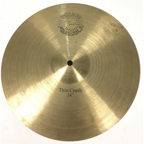 Paiste Sound Formula Thin Crash 14
