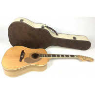 Fender Elvis Kingman Natural con custodia rigida