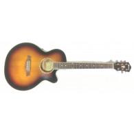 Ibanez AEG10E Vintage Sunburst chitarra acustica amplificata
