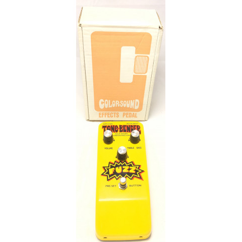 Colorsound Sola Sound Yellow Hybrid Tone Bender OC75