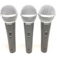 WVNRG M-58 set tre microfoni