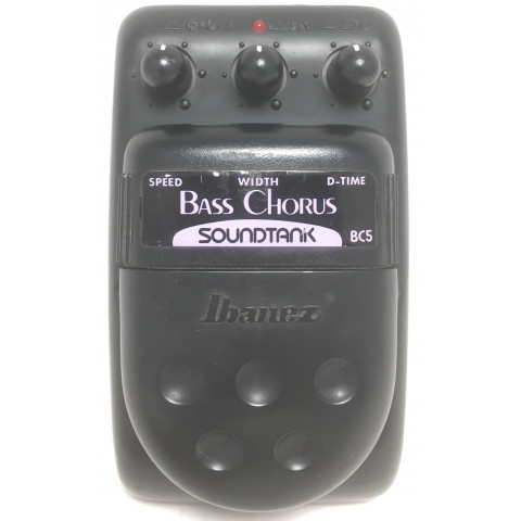 Ibanez BC5 Soundtank Bass Chorus