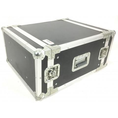 Proel CR206BLKM Flight case 6 unità