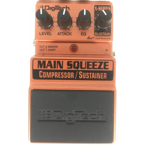 Digitech XMS Main Squeeze Compressor Sustainer