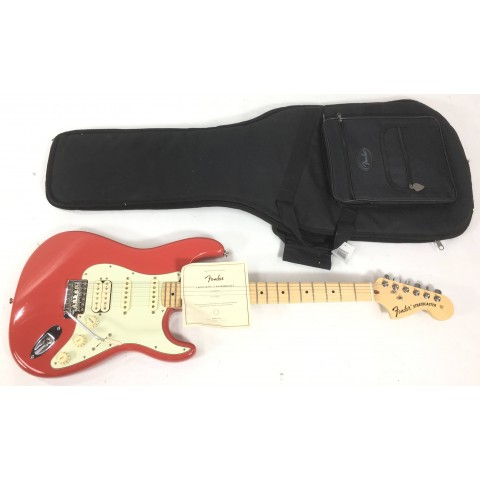 Fender Stratocaster American Special HSS Fiesta Red Seriale US17118852