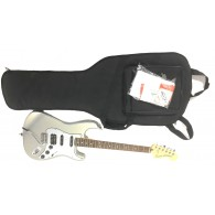 Fender Limited Edition Lone Star Strat Ghost Silver seriale MX14478244