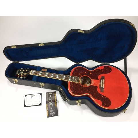 Gibson Custom Shop J-180 Cherry Limited Edition serial 12744058