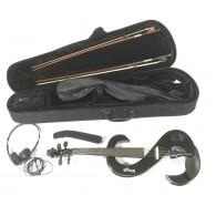 Stagg EVN 4/4 MBK Violino elettrico nero