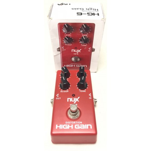 NUX HG-6 High Gain Distortion