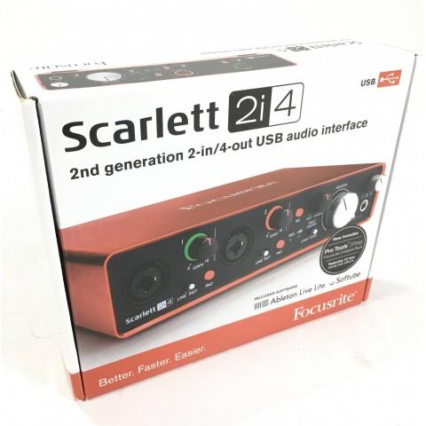 Focusrite Scarlett 2i4 2 gen