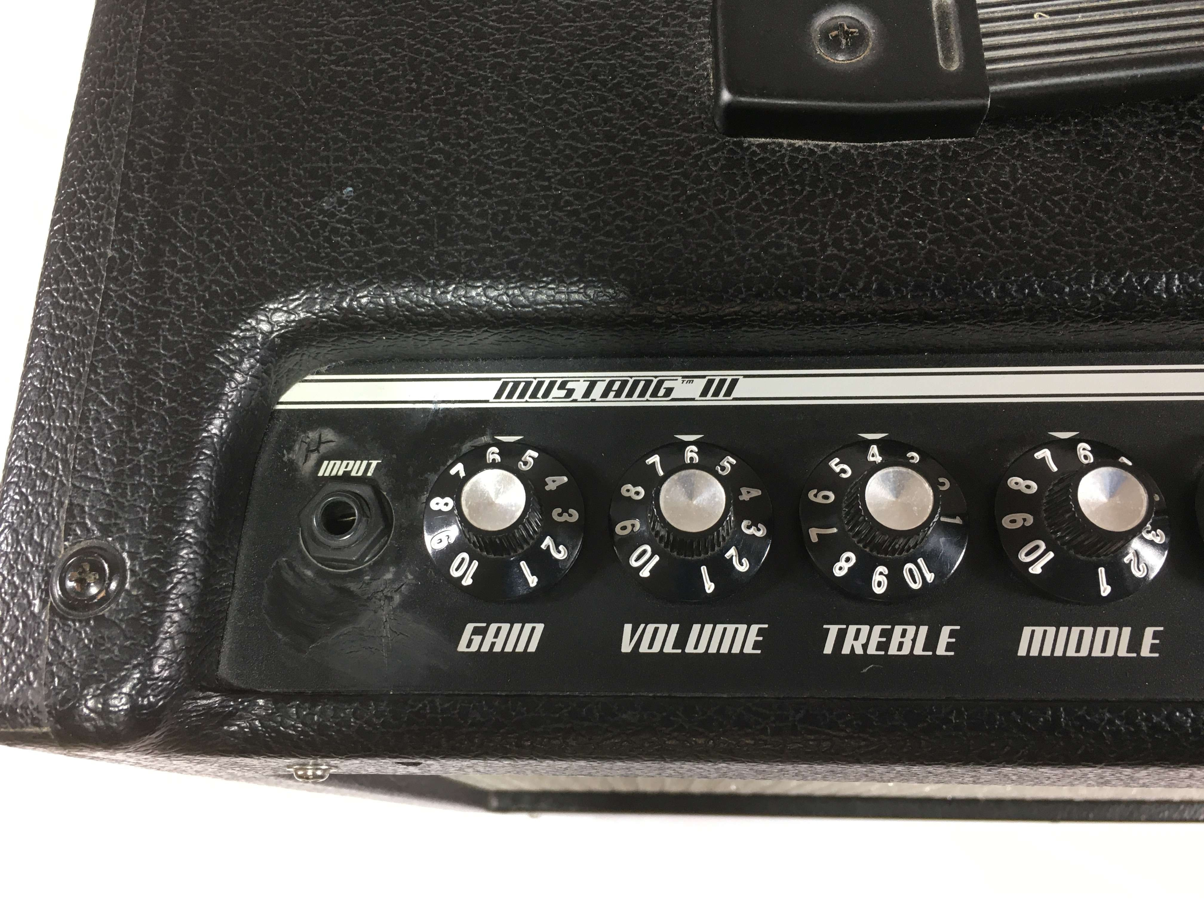 firmware mustang v2 iii as a monitor