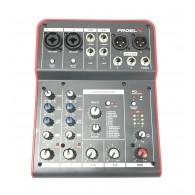 Proel MQ6FX mixer con effetti