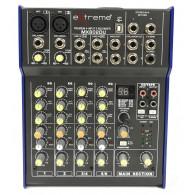 Extreme MX802DU mixer con USB ed effetti
