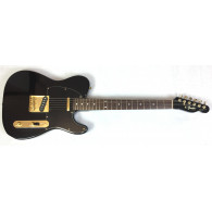 Fender Telecaster Black & Gold 84-87 Vintage Made in Japan - Edizione rara