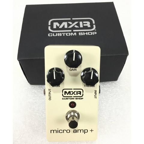 MXR Micro Amp Plus CSP233 Custom Shop
