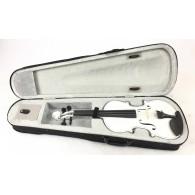 Mavis Violino 4/4 bianco con custodia