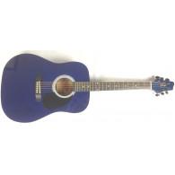 Stagg SW203 Transaprent Blue Chitarra acustica