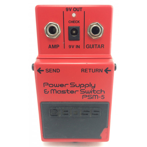Boss PSM-5 Power Supply e Master Switch