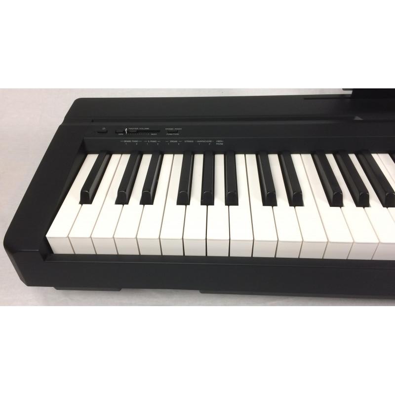 yamaha p 35 black pianoforti digitali yamaha. Black Bedroom Furniture Sets. Home Design Ideas