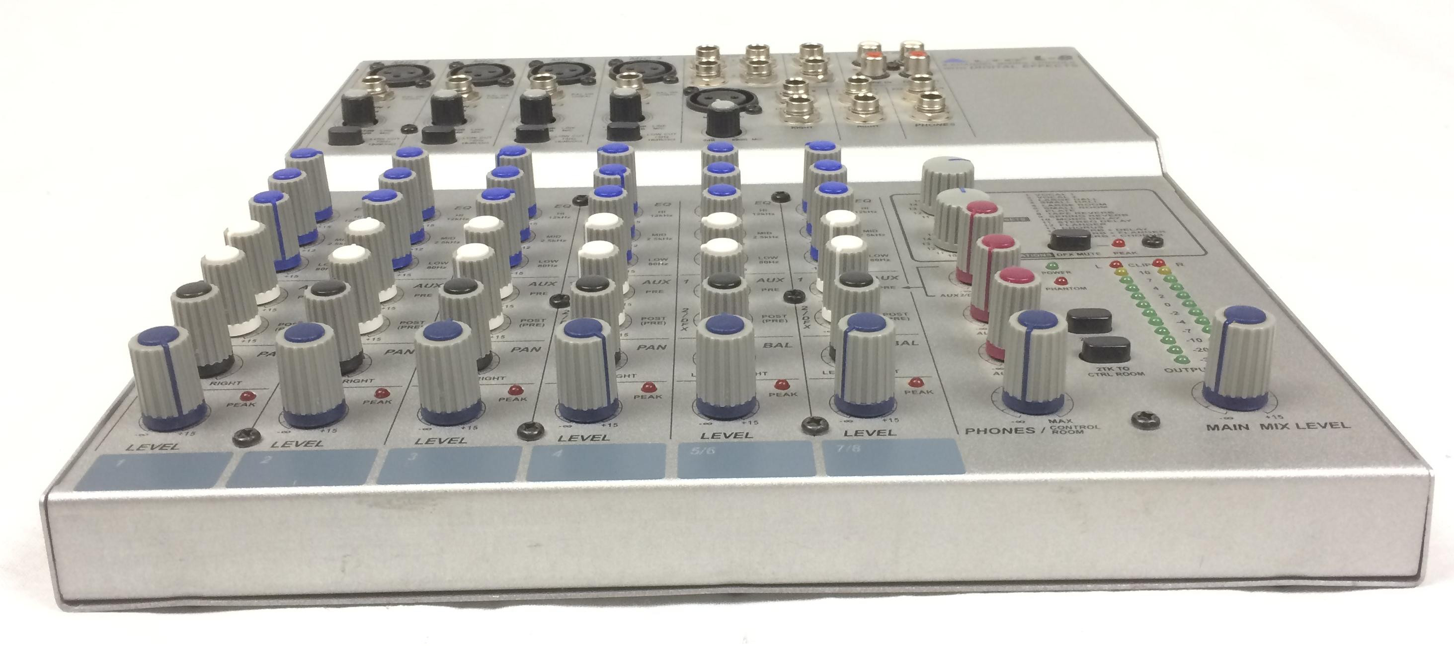 Alto l8 mixer 8 canali con effetti mixer alto for Alto pericolo il tuo account e stato attaccato