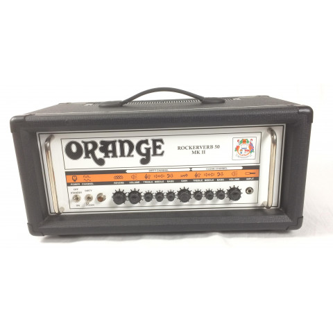 Orange Rockerverb 50 MKII black + flight