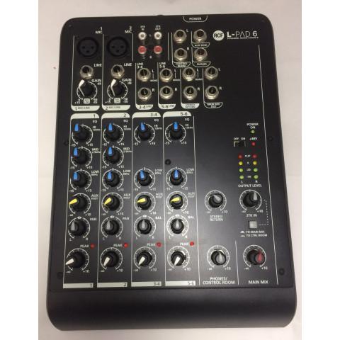 Rcf L-PAD 6 Mixer 6 canali