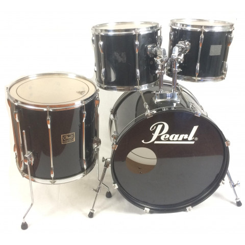 Pearl Export 22 Black 4 pezzi